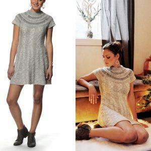 Free People Nordic Gryy Night Sweater Dress